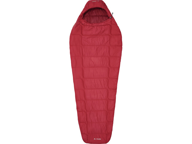 VAUDE Sioux 400 Syn S Slaapzak Dames, dark indian red